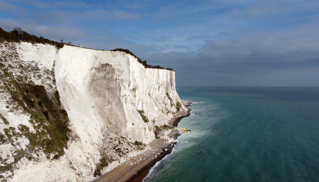 A view of the White Cliffs of Dover in Kent. Picture date: Thursday February 25, 2021.