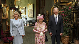 President Joe Biden says the Queen reminds him of his mother after visit to Windsor Castle