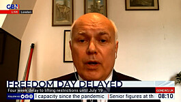 UK 'frightened' into lockdown delay by 'incorrect forecasts', says IDS