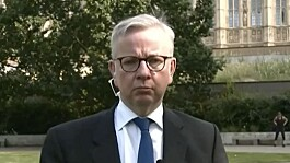 Covid: No additional support for firms hit hardest by lockdown extension, says Gove