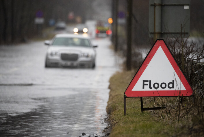 Flooding is expected in England.