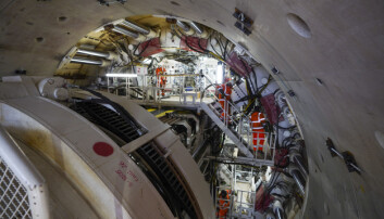 Florence - the largest ever tunnel boring machine used on a UK rail project - is unveiled at the HS2 site in West Hyde near Rickmansworth in Hertfordshire. Picture date: Thursday May 13, 2021.