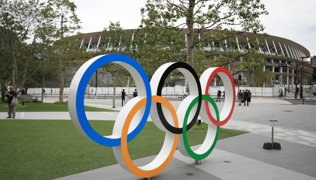 File photo dated 31-12-2020 of Olympic Rings outside the Olympic Stadium in Tokyo, Japan. Issue date: Wednesday April 28, 2021.