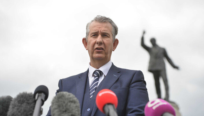 DUP leader Edwin Poots resigned after less than a month in charge.