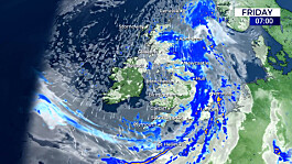 Weather: A damp start with heavy rain forecast