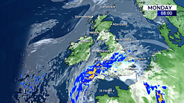 Weather: Fine in the north, unsettled in the south