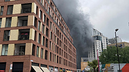 Huge fire breaks out near Elephant and Castle station in South London
