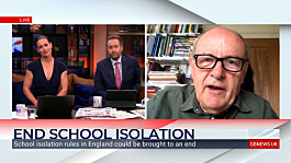Kirsty Gallacher, Darren McCaffrey and education campaigner hail move to end isolation for school pupils