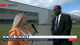 Sunderland's Brexit vote justified by new £1bn Nissan investment, Business Secretary tells GB News