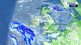 Weather: Showery for the next few days, becoming windy later Monday