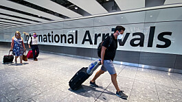 Covid: Self-isolation for travellers 'could be scrapped for amber list arrivals in England'