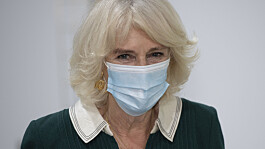 Camilla, Duchess of Cornwall, 'can't wait to get rid' of face mask
