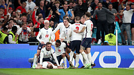 Euro 2020: England progress to the final with 2-1 win over Denmark at Wembley