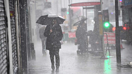 UK weather: Heavy rain across north with showers in the south