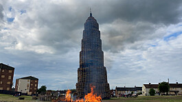 DUP says bid to remove a contentious loyalist bonfire should never have gone to court