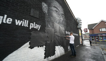Marcus Rashford mural defaced with racist graffiti hours after England loss