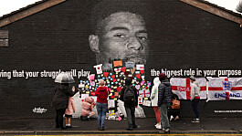 Marcus Rashford says 'I'll be back stronger' as mural defaced after penalty miss