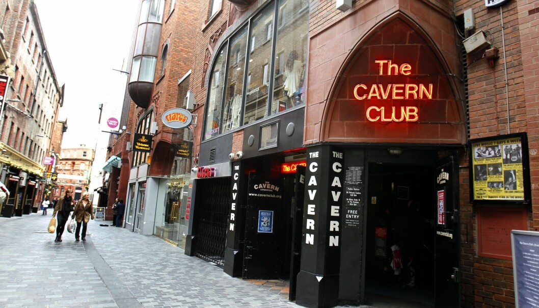 A general view of The Cavern in Liverpool. Made famous as the club where The Beatles began.