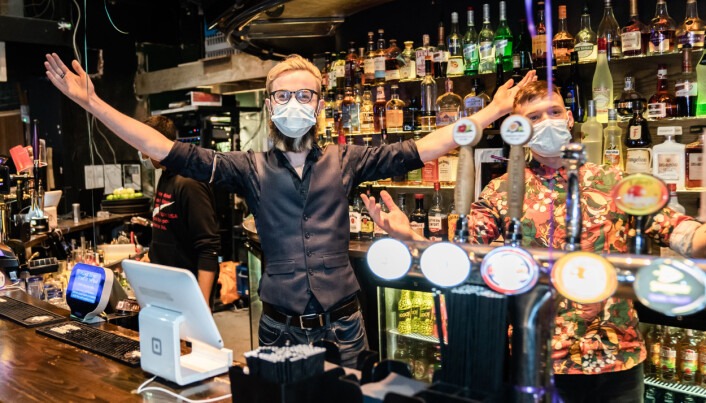In many venues staff will still wear face masks after July 19.
