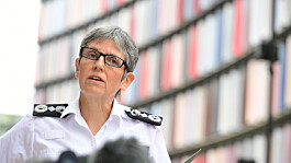 Met Commissioner Dame Cressida Dick to be made Dame Commander for public service