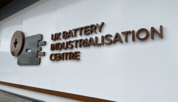 The UK Battery Industrialisation Centre in Coventry where Boris Johnson has laid out his levelling up agenda .