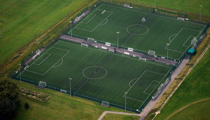 The Government are investing £50 million in football pitches.
