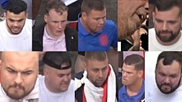 Police release images of 10 men sought in connection with Euro 2020 disorder