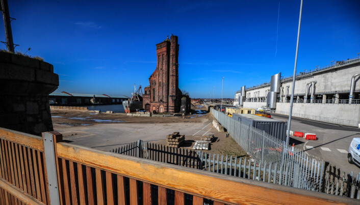 File photo dated 24-03-2017 of Bramley Moore Dock in Liverpool, the proposed site of Everton's new stadium. Issue date: Monday February 15, 2021.