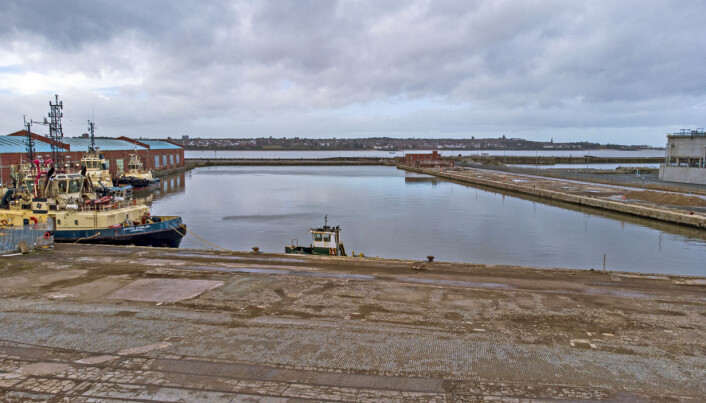 Bramley-Moore Dock in Liverpool, which is the proposed site for Everton Football Clubs new stadium. Issue date: Tuesday February 16, 2021.