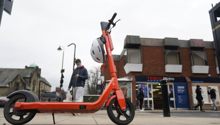 An e-scooter in Newcastle,Concerns have been raised about irresponsible e-scooter riding just a week after the pilot scheme was launched.