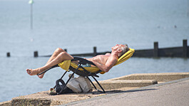 Amber weather warning as heatwave continues - but heavy rain to hit some parts of UK
