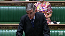 Migrant crisis: Jacob Rees-Mogg heckled after branding Labour 'party of people traffickers'