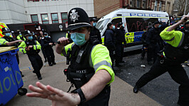 Police stop and search powers to be boosted under Boris Johnson's crime crackdown plans