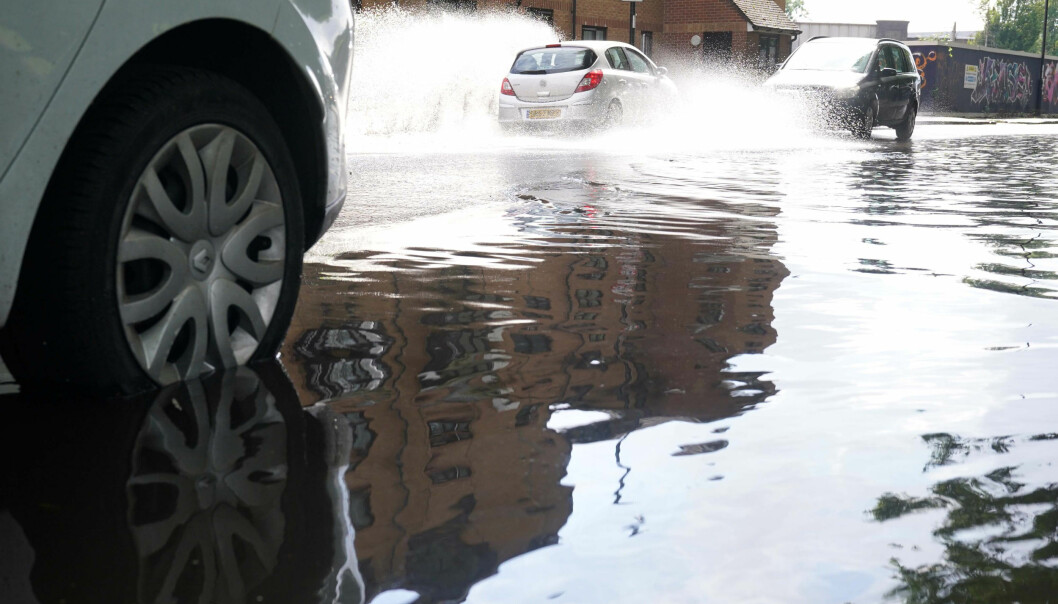 North-west England has a yellow weather warning, with flooding expected.