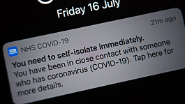 Nearly 700,000 'pings' sent in the last week by NHS Covid app
