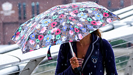 UK weather: Storm Evert to bring thunder and showers across England and Wales
