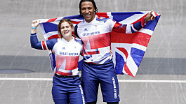 Tokyo Olympics: GB's Shriever wins BMX gold as medal rush in pool continues