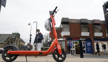 E-scooters are becoming more common in towns and cities.