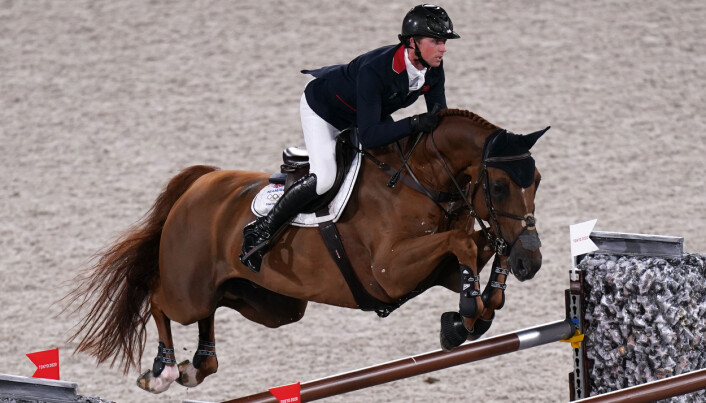 Great Britain's Ben Maher riding Explosion W in the Individual Jumping Final at Equestrian Park on the twelfth day of the Tokyo 2020 Olympic Games in Japan. Picture date: Wednesday August 4, 2021.