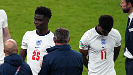 Euro 2020: Police arrest 11 over racist abuse of England players after final defeat