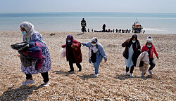 Nigel Farage says 'you ain't seen nothing yet' as English Channel crossings pass 10,000 and a new daily record reached