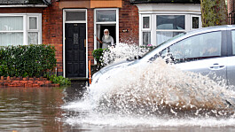Flood warnings issued as thunderstorms threaten to washout northern England, Scotland and Northern Ireland