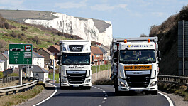 Brexit lorry traffic controls around Dover to be made permanent