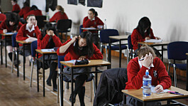 GCSE students earn record results after exams scrapped for second year