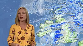 Weather: Sunny and dry, with evening showers