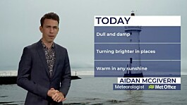 Weather: Patchy rain and low cloud across the UK