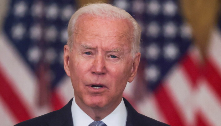 Joe Biden 'squarely behind' decision to withdraw US troops from Afghanistan
