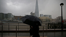 Weather: Heavy rain and thunder clearing to sunny intervals throughout the day