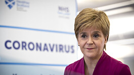 Nicola Sturgeon launches £1 billion spending spree for the NHS in Scotland after Covid
