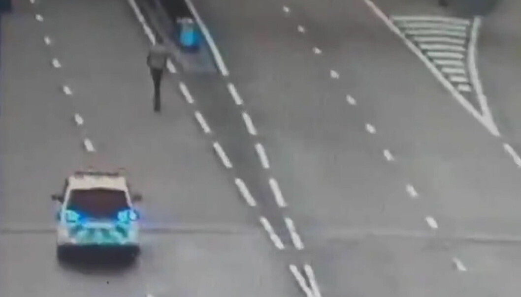 E-Scooter on the Motorway